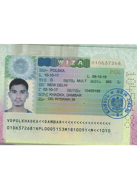 Poland Visa Approved Students