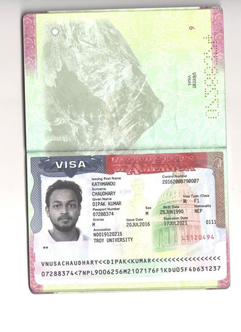 USA visa Approved Students