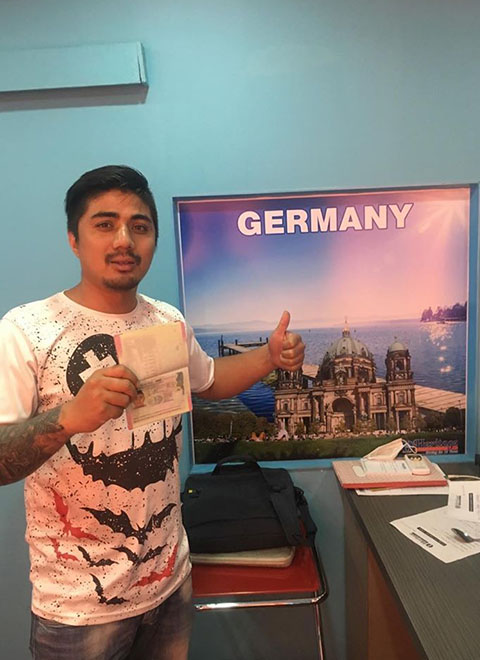 Germany Visa Approved Students