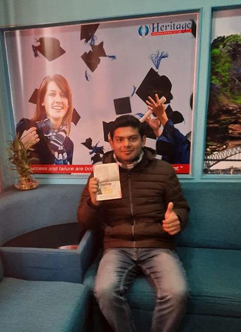 Recent UK Visa Approved Student